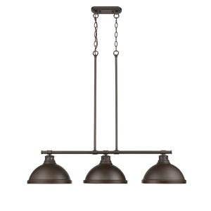 Duncan - 3 Light Linear Pendant
