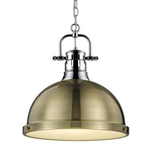Duncan - 1 Light Chain Pendant