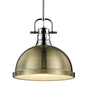 Duncan - 1 Light Rod Pendant