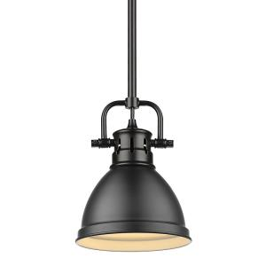 Duncan - 1 Light Mini Pendant with Rod