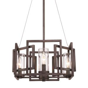 Marco - 4 Light Pendant in Industrial style - 58.38 Inches high by 16 Inches wide