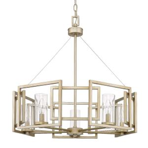 Marco Chandelier 5 Light  Steel