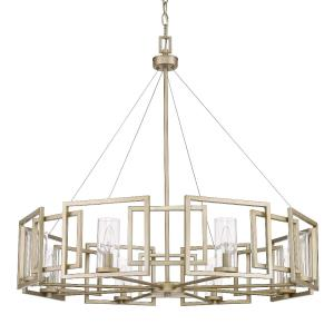 Marco - Chandelier 8 Light in Variety of style - 33 Inches high by 35.5 Inches wide