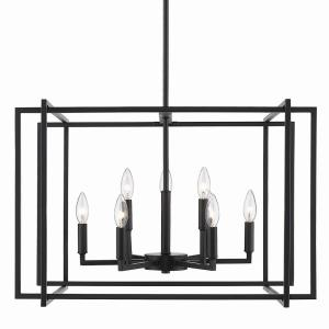 Tribeca Chandelier 9 Light  Steel