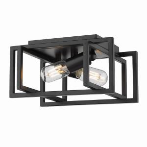 Tribeca - 2 Light Flush Mount in Variety of style - 6 Inches high by 11.5 Inches wide