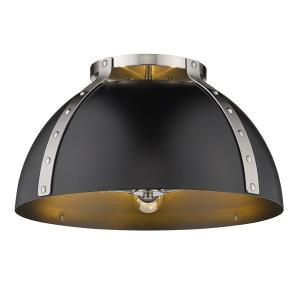"Aldrich - 3 Light 18"" Flush Mount Ceiling Light"