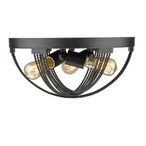 Carter - 3 Light Flush Mount