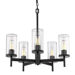 Winslett - 5 Light Chandelier in Classic style - 23 Inches high by 23.75 Inches wide