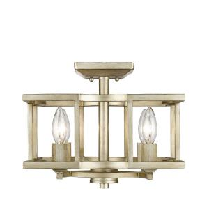 Bellare - 4 Light Convertible Semi-Flush Mount