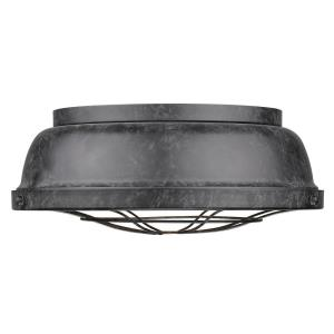Bartlett - Three Light Flush Mount