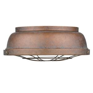 Bartlett - 2 Light Flush Mount