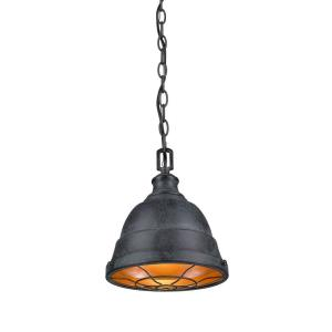 Bartlett - 1 Light Small Pendant in Traditional style - 11 Inches high by 9.25 Inches wide