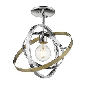 Atom 1 Light Semi-Flush
