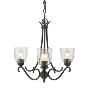 Parrish Mini Chandelier 3 Light  Steel