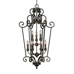 Heartwood Caged Foyer Pendant