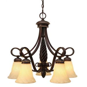 Torbellino Nook Chandelier 5 Light
