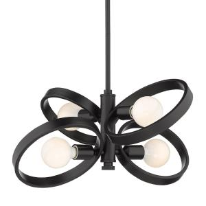 Sloane Chandelier 4 Light  Steel
