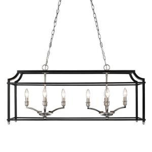 Leighton - 8 Light Linear Pendant
