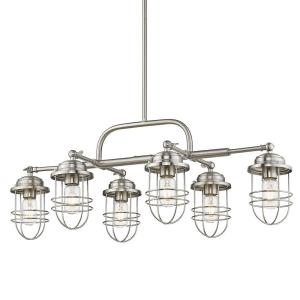Seaport - 6 Light Linear Pendant