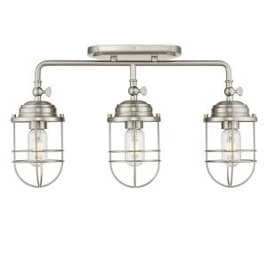 Seaport - 3 Light Semi-Flush Mount