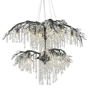Autumn Twilight - 18 Light 2-Tier Chandelier