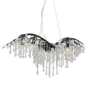 Autumn Twilight - 6 Light Chandelier in Organic style - 14.25 Inches high by 31 Inches wide