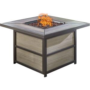 Chateau - Square Kd Fire Pit with Drop- In- Tile Top