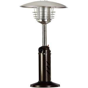 "34"" Mini Umbrella Portable Table Top Patio Heater with Regulator For 1Lb Tank"