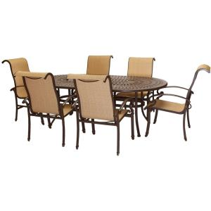 "Kerrington - 84"" 7-Piece Outdoor Dining Set"