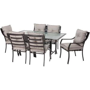"Lavallette - 66"" 7-Piece Outdoor Dining Set"