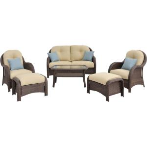 "Newport - 64"" 6-Piece Seating Set"