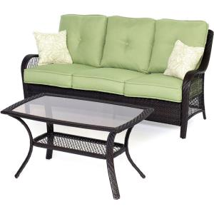 "Orleans - 74.8"" 2-Piece Patio Seating Set"