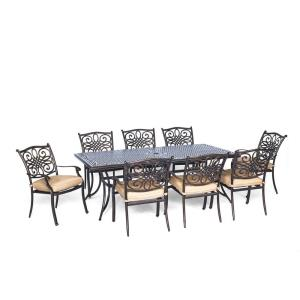 "Traditions - 84"" 9-Piece Dining Set"