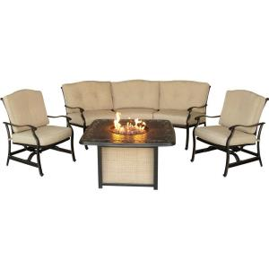 "Traditions - 97.6"" 4-Piece Fire Pit Set"