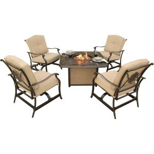 "Traditions - 36"" 5-Piece Fire Pit Set"