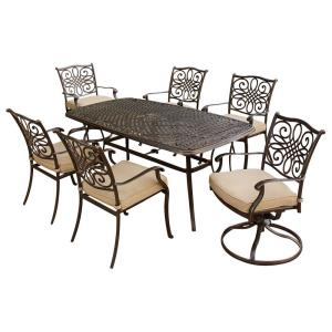 "Traditions - 72"" 7-Piece Dining Set"