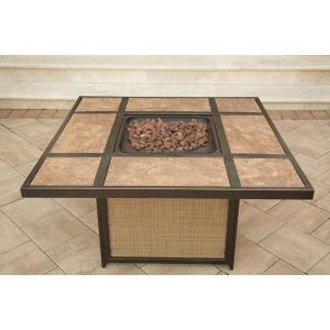 "Traditions - 44.9"" Tile Top Fire Pit"
