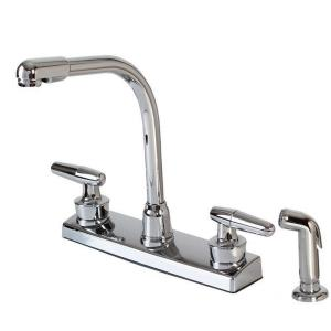 "13.50"" Double Handle Kitchen Faucet"