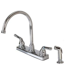 "14.25"" Double Handle Kitchen Faucet"