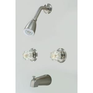 "7.20"" Double Handle Tub and Shower Mixer"