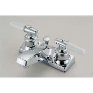 """9.31"""" Double Handle Lavatory Faucet"""