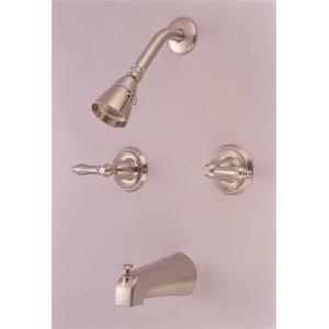 """14"""" Double Handle Tub and Shower Mixer"""