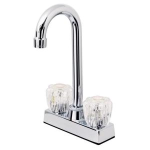 "6.06"" Double Handle Hi-Rise Bar Faucet"