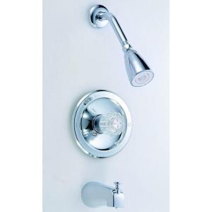 """9.50"""" Single Handle Tub and Shower Faucet"""