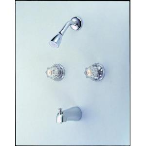 """8.50"""" Double Handle Tub and Shower Mixer"""