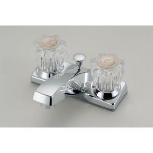 """6.5"""" Double Handle Lavatory Faucet"""