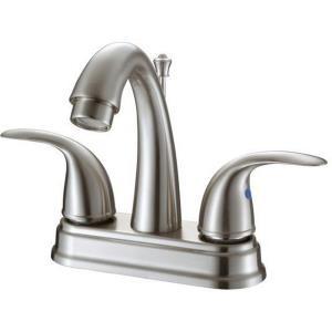 """9.25"""" Double Handle Lavatory Faucet"""