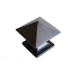 1.25 Inch Square Art Cabinet Knob