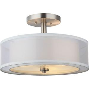 El Dorado - Three Light Semi-Flush Mount