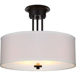 Lexington - Two Light Semi-Flush Mount